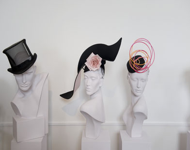 Hats-on-mannequins-London-