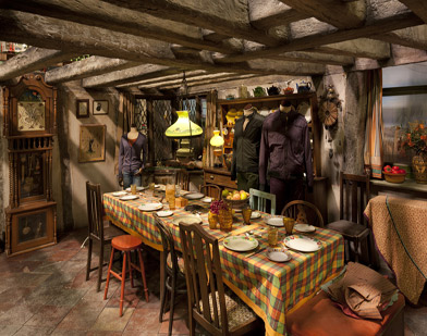 Weasleys' kitchen