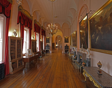 The Long Gallery, Castle Howard, Victoria Tour