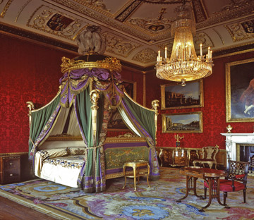 King's Bedchamber, Windsor Castle