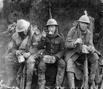 Soldiers from World War 1