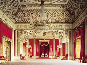 Throne room Kensington Palace