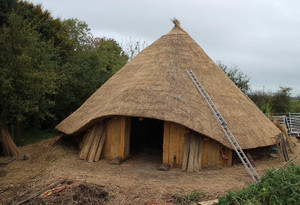 Celtic Roundhouse at Whithorn